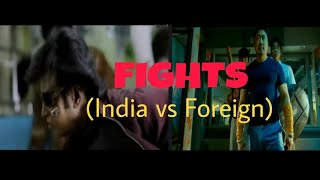 Fights ( Foreign vs India ) | Funny Complication | @ The Comic Guy | (# Shorts)