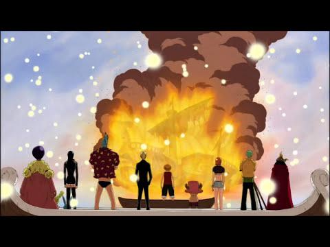 One Piece sad music merry
