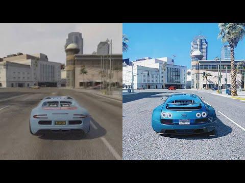 ►GTA 5 - Xbox 360 vs 8k resolution RTX 2080 Ti Gaming PC! Ultra-Realistic Redux ◉GTA 6 Graphics Mod!