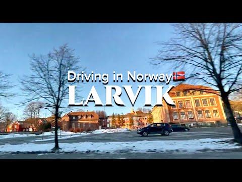 Norway 🇳🇴 Driving through Larvik