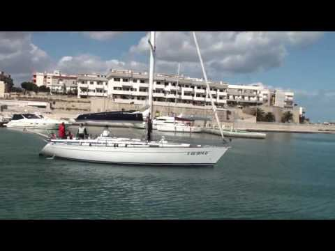 Towards the open adriatic sea with sails - http://www.apuliadestination.tv/