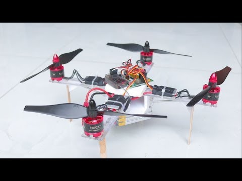 How to make Quadcopter at Home - Make a Drone