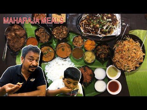 தொக்கு-meals-சென்னை-வடபழனி-||-maharaja-meals-||-little-india-||tamil-food-review||selvas-food-review