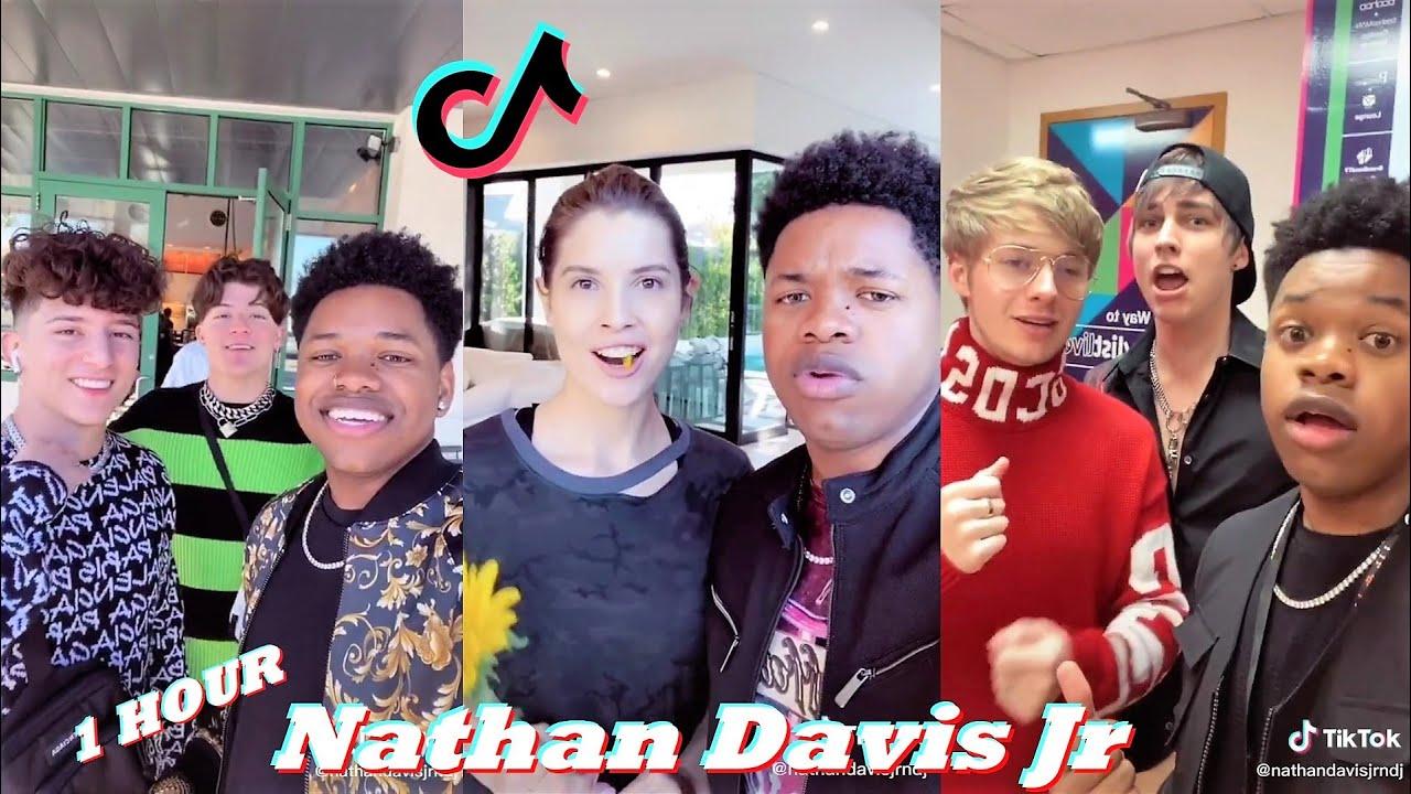 *1HOUR* Nathan Davis Jr (NDJ) TikToks Videos 2021   Nathan Davis Jr TikTok Singing Challenge Videos