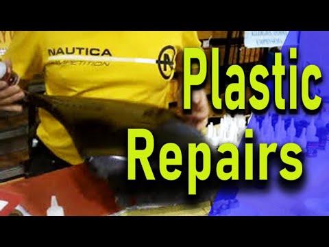 BEST GLUE FOR PLASTIC  Repair polypropylene plastic bumper with Black Bull  german Adhesive