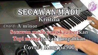 SECAWAN MADU - KARAOKE DAN LIRIK CHORD (COVER) KORG Pa300