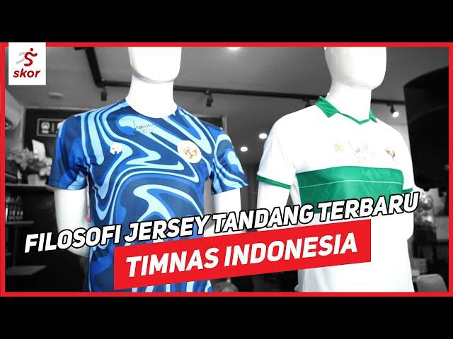 FILOSOFI UNIK DI BALIK JERSEY TANDANG TIMNAS INDONESIA