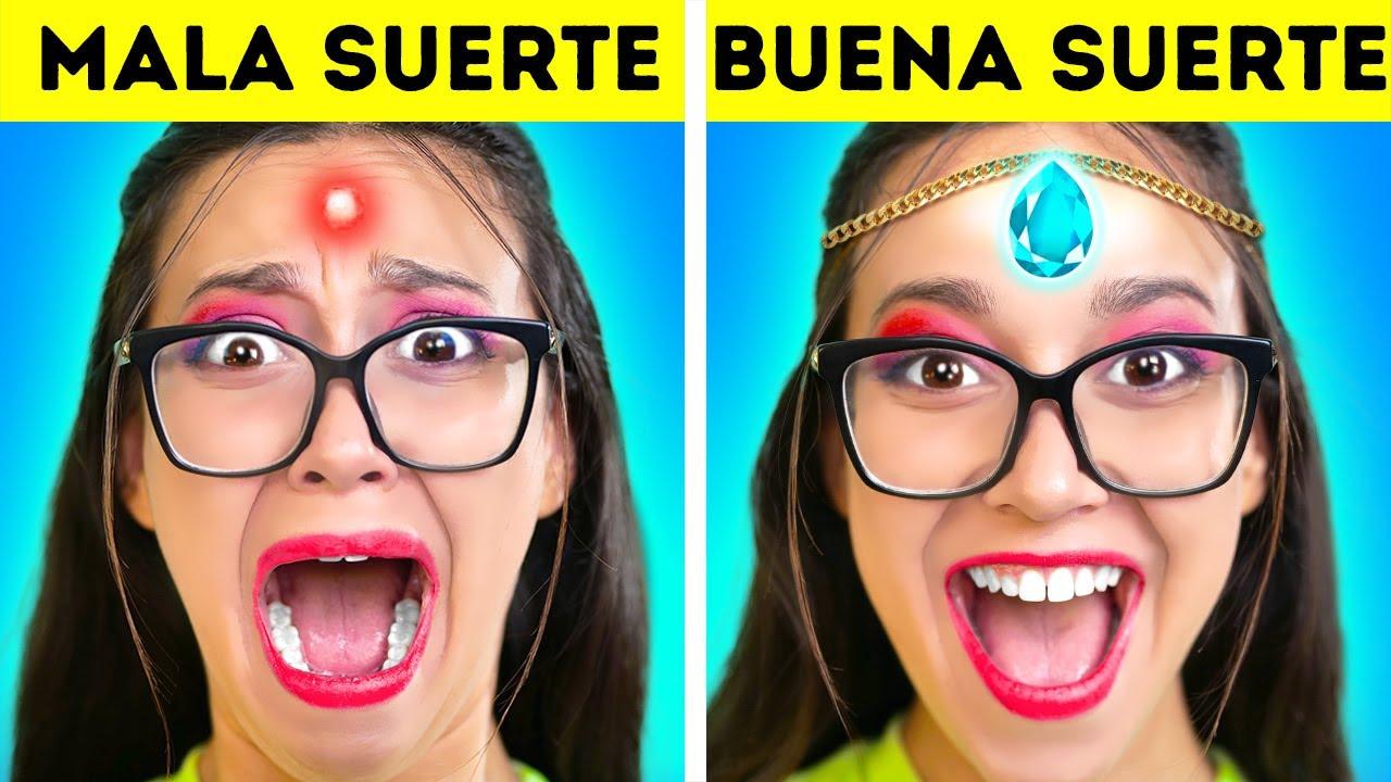 Cómo ser POPULAR en la ESCUELA – BUENA vs. MALA SUERTE | Zombi en la escuela – por La La Vida Juegos