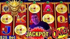 HIGH LIMIT 5 Dragons Slot Machine HANDPAY JACKPOT - $25 Bet | Rare 5 Bonus Symbols