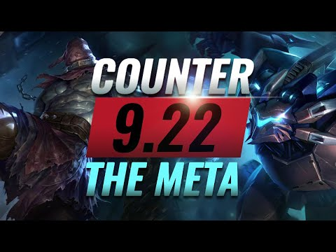 Counter The Meta: BEST Counterpicks For EVERY ROLE - Patch 9.22 - League of Legends Season 9
