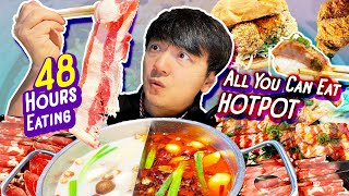 MUST TRY SUSHI, Chinese FRIED CHICKEN & All You Can Eat HOTPOT | 48 Hours Eating in Greater Seattle