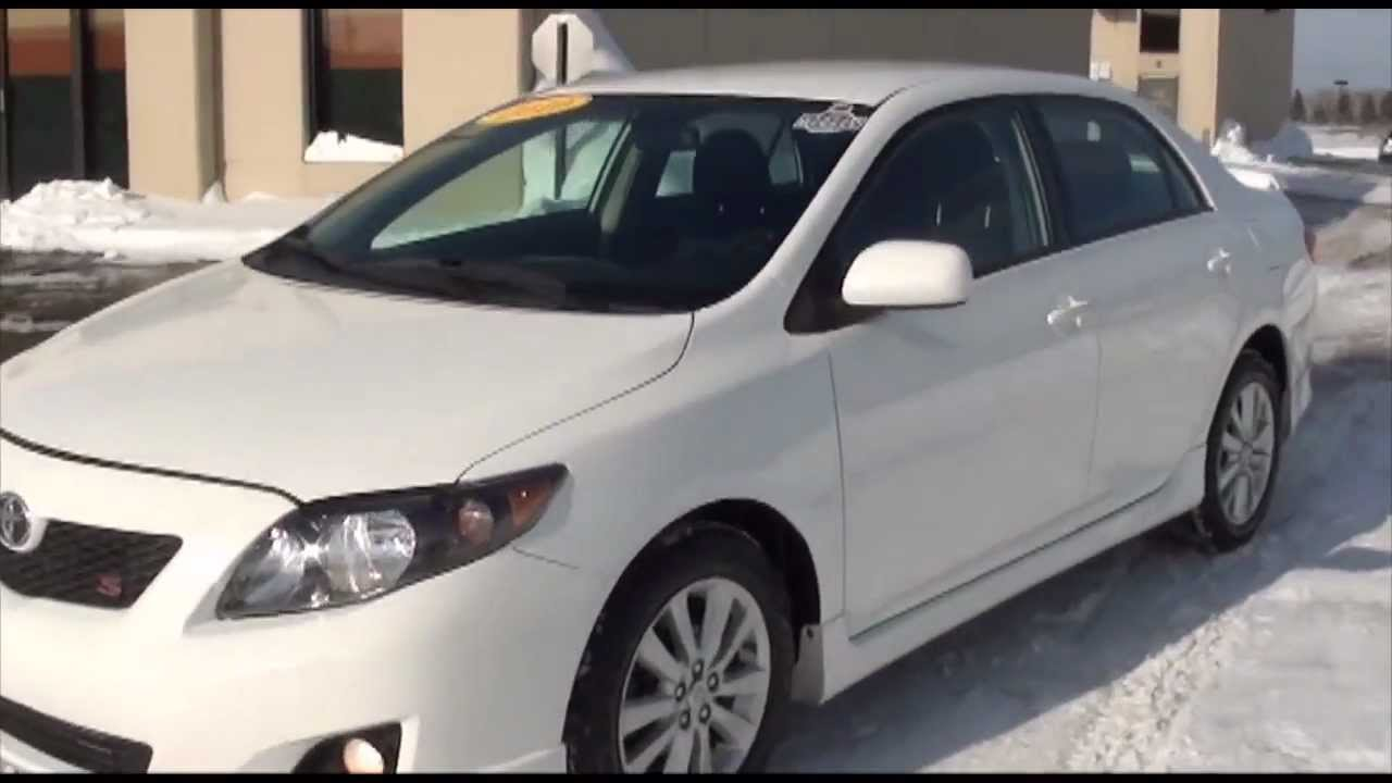 2010 Toyota Corolla S Sport Package Excellence Cars Direct