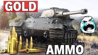 GOLD BĘDZIE OP? - 350 Penetracji na X Tierze - World of Tanks
