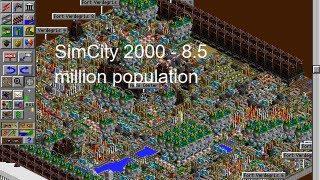 SimCity 2000 DOS 8.5 million population