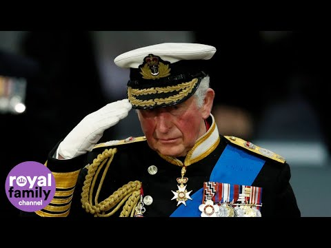 Prince Charles Attends Commissioning of HMS Prince of Wales Aircraft Carrier