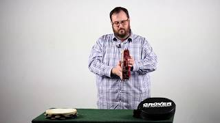Tambourine Demonstration Video Part Four: Special Sauce Roll