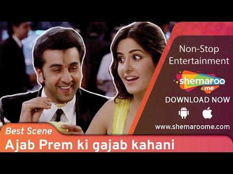 Most hilarious scene of Ranbir Kapoor & Katrina Kaif from Ajab Prem Ki Gazab Kahani  Comedy Scene