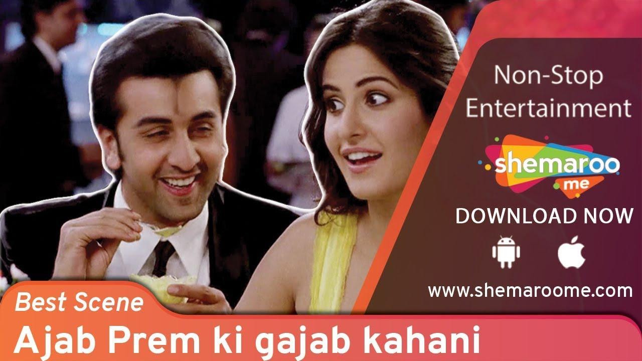 Download Most hilarious scene of Ranbir Kapoor & Katrina Kaif from Ajab Prem Ki Gazab Kahani - Comedy Scene