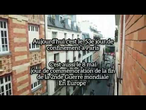 "Soprano from balcony ""La Marseillaise"" et ""Le chant des partisans"" 8 mai 2020 Veronica Antonelli"