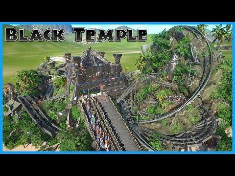 BLACK TEMPLE: Adventure! Coaster Spotlight 370 #PlanetCoaster