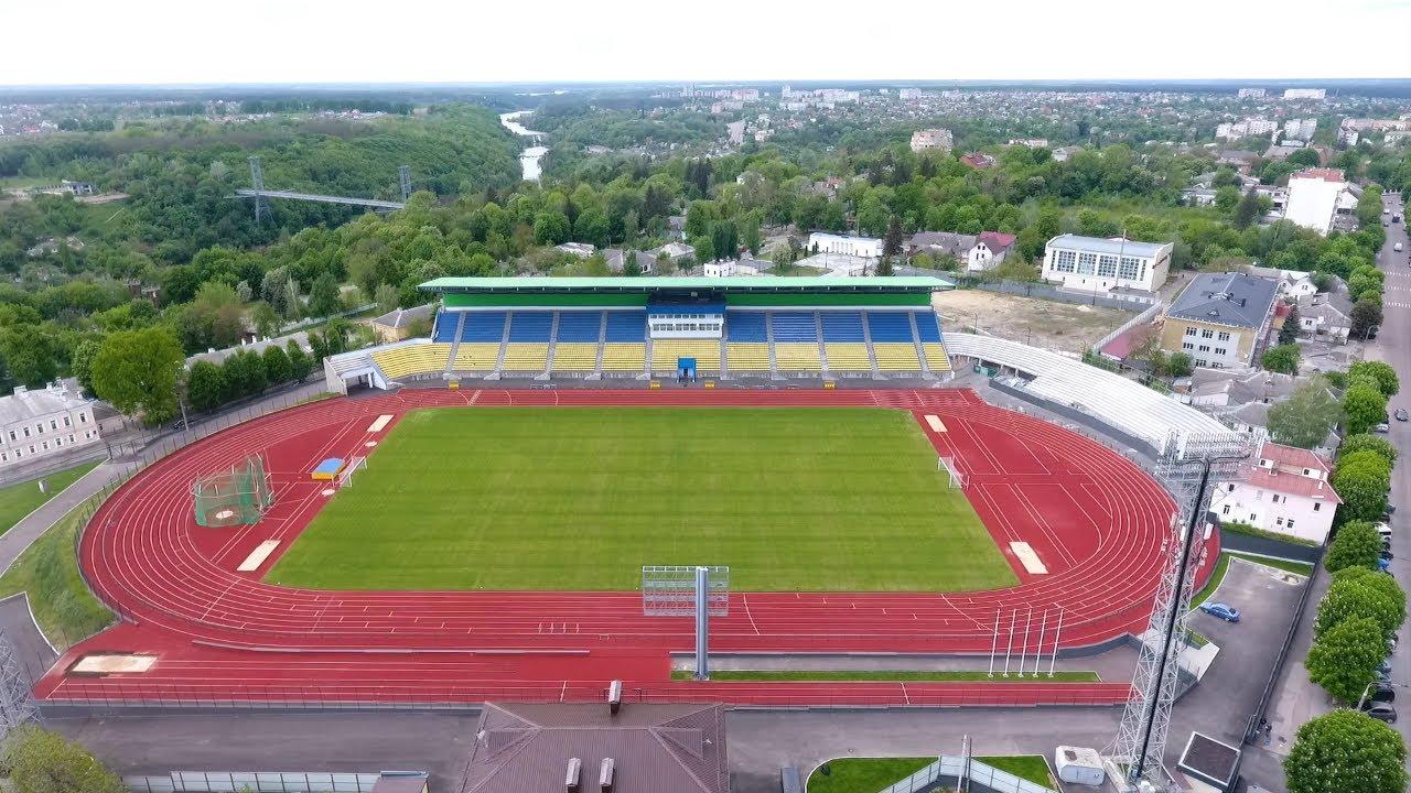 Стадіон «Полісся» може бути введений в експлуатацію