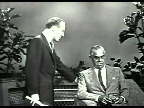 Boris Karloff Interview (1957)