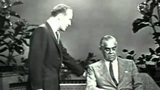 Boris Karloff Interview (1957)