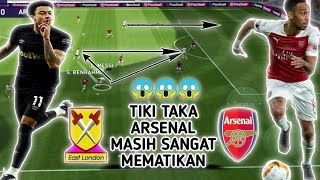 GAME ANDROID ONLINE PES MOBILE 2021 ANDROID E FOOTBALL || WEST HAM VS ARSENAL GAME PLAY