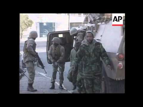 Lesotho - Armed Clashes In Streets
