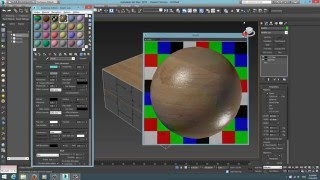 009-3Ds Max- Multi-Sub Object & Map Channel