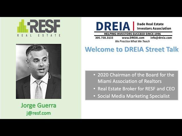 Street Talk with Jorge Guerra