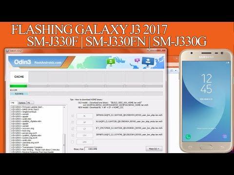 Flash/Unbrick Galaxy J3 2017 SM-J330F/FN/G All Models Stock Firmware