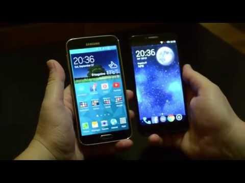 Samsung Galaxy S5 VS Alcatel Idol 2 test