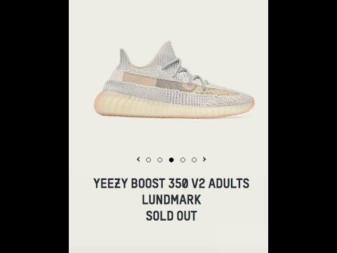 Adidas Yeezy Boost 350 V2 Lundmark Drop Today 7 13 2019!