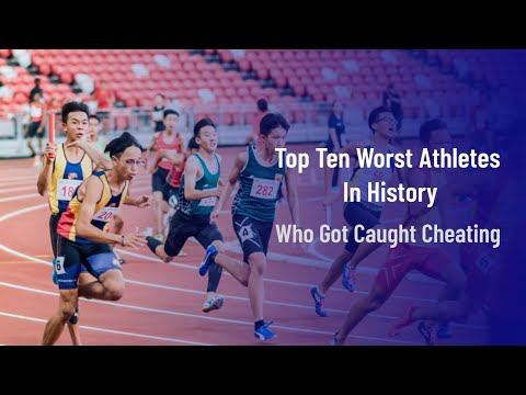 Top Ten Worst Athletes In History Who Got Caught Cheating | TOP TEN
