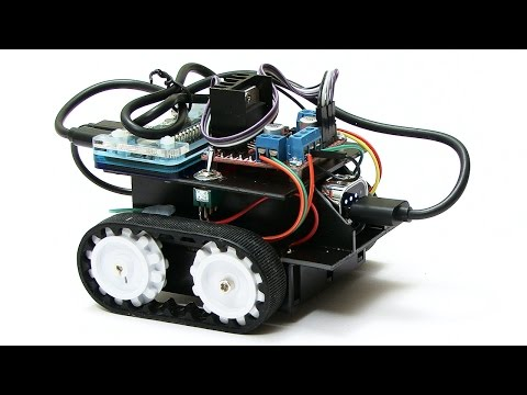 Raspberry Pi Robotics #3: Keyboard Control