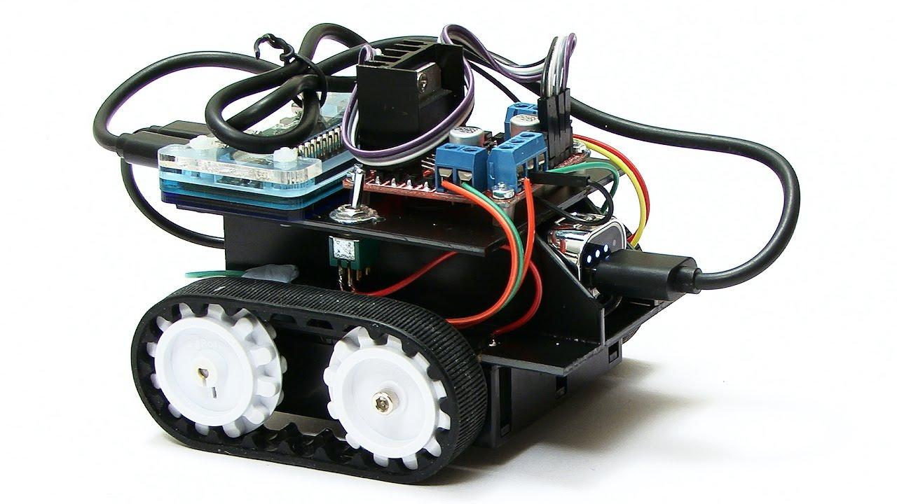 ExplainingComputers com: Raspberry Pi Zumo Robot