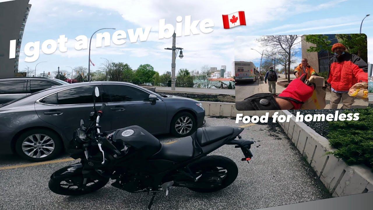 Canada me Motovlog, Indian biker helping people in lockdown