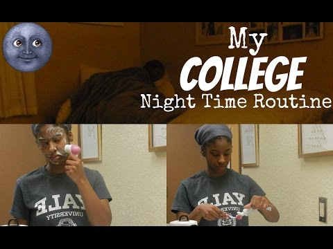 | My College Night Time Routine | tramsue | - YouTube