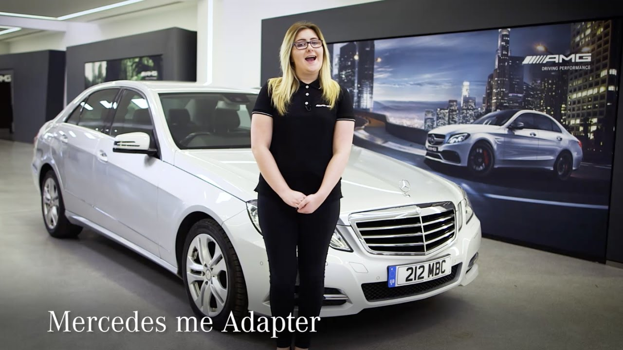 What Is The Mercedes Me Adapter Mercedes Benz Cars Uk