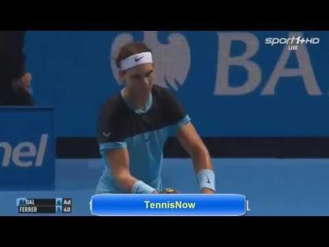 Rafael Nadal vs David Ferrer   ATP WTF 2015 - Highlights