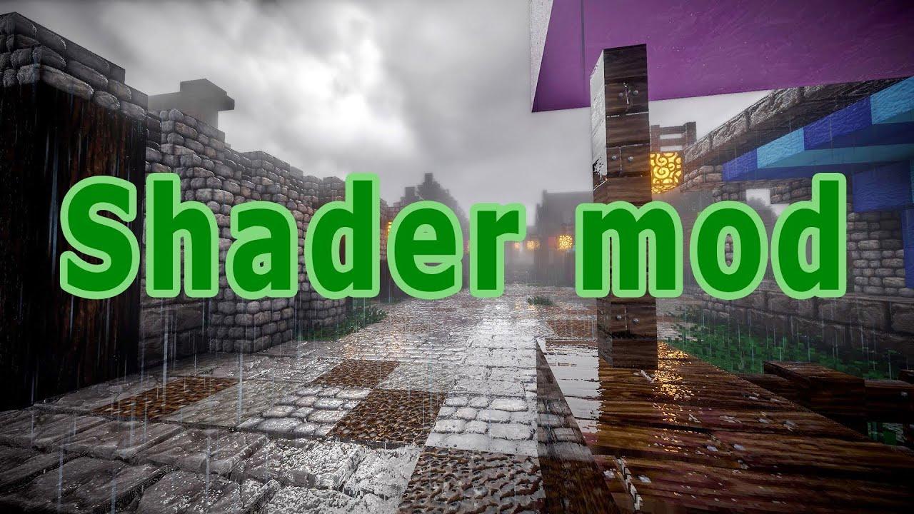Cách cài shader mod cho Minecraft PE