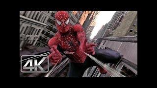 Spider-Man Vs Doctor Octopus (Pelea del Tren) V.Extendida LATINO (4k-HD) Spider-Man 2.1