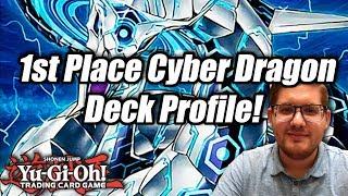 Yu-Gi-Oh! 1st Place Cyber Dragon Deck Profile! Las Vegas Regional October 2018! ft. Ulises Aispuro!