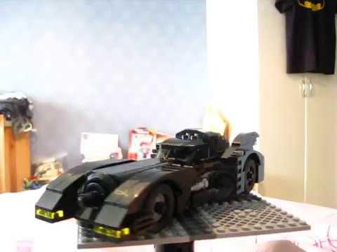 Lego 1989 Batmobile Instructions Youtube