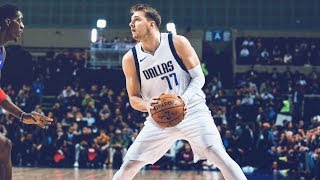 Luka Doncic 41 Pts Triple Double in Mexico vs Pistons! 2019-20 NBA Season Video