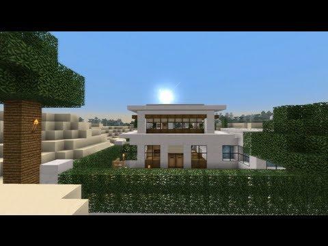 Minecraft bouwsel de luxe villa youtube