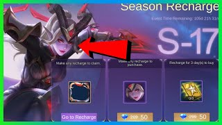 KARINA NEW SKIN BLOOD MOON S17 RECHARGE EVENT | iCoCow | MLBB 2020