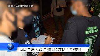 警方展开取缔 151人涉私会党活动被捕 - YouTube