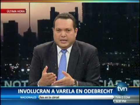 TVN Involucran al Presidente Juan Carlos Varela en caso Odebrecht parte 2